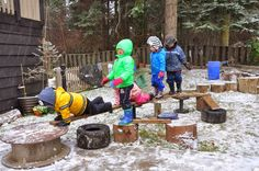 let the children play: How to Create a Natural Outdoor Play Space. Part 1