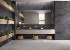 Indoor/outdoor porcelain stoneware wall/floor tiles NORDIKA GREY Nordika Collection By EmilCeramica by Emilgroup