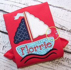 girly sailboat