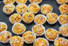 my-sweet-hut: CNY Honey Cornflake Cups (I) & (II)