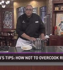 Chef Belton's Quick Tips: Cooking rice the right way