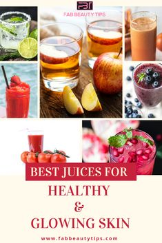 How Do juices help you to attain for healthy and glowing skin? Know why Juices are your best friends when it comes to attaining healthy and glowing skin. Healthy Juices, Healthy Smoothies, Smoothie Recipes, Healthy Skin, Happy Healthy, Healthy Foods, Glowing Skin Juice, Juice For Skin, Glowing Face