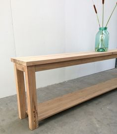Chapel Side Table by Rabbit Trap Timber - Side Table, Living Room Table, Hall Table, Recycled Timber Table