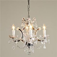 1000 images about powder room bathroom lighting on - Small crystal chandelier for bathroom ...