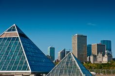 Edmonton, Alberta landmarks to visit -- The Muttart Conservatory Cool Countries, Countries Of The World, Canada Mountains, Coach Tours, Train Tour, Western Canada, Visit Canada, The Province, Alberta Canada
