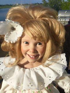 Anne Mitrani vinyl doll Dolls Dolls, Art Dolls, Vinyl Dolls, Beautiful Dolls, Amazing Art, Ann, Porcelain, Puppets, Cute Dolls