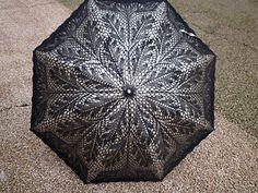 Ravelry: 8739210's lace umbrella Thread Crochet, Lace Knitting, Crochet Doilies, Crochet Lace, Modern Crochet Patterns, Crochet Designs, Knitting Designs, Lace Umbrella, Lace Parasol
