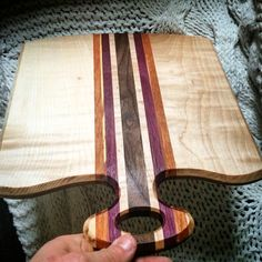 Cutting board, cheese board, butcher block design by Stephen Day. Featured on the Brooklyn Bridge in New York City. Www.whitemountainwoodworks.com