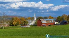 Every year I always make a trip to Peacham for the traditional picture.   #foliage #fallfoliage #vermont #newenglandphotography #newengland #landscape #newengland_photography #ScenicVermontPhotography #ScenicVermont #VT #welovermont  Feel free to visit my website - http://ift.tt/2aTNg7U