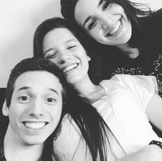 Mica Suarez Pablo Agustín Barbara Martinez Bajo Ningún Término Squad Goals, Lgbt, Netflix, Black And White, Couple Photos, Celebrities, Photography, Collection, Wattpad
