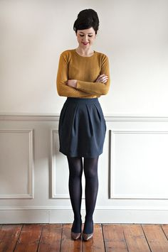 Super versatile, the Tulip Skirt is a true wardrobe must-have. Aclassic tulip shape, it's one of Lisa's favourite silhouettes. Designed to be gorgeouslyflattering, it has pretty slanted pleats at the front, with darts at the back for subtle shaping. The side seams curve to give thatlovely shape, and also play host tosuper functional in-seam pockets. (Who doesn't love a pocket!) Sitting atthe waist, it has a curved waistband, designed to hug your waist with maximum no-gape eff...