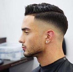 30 Impressive Fade Haircuts with Part - Unique Styles & Ideas - Men's Hairstyle Tips - - 30 Impressive Fade Haircuts with Part - Unique Styles & Ideas - Men's Hairstyle Tips Cool Haircuts, Haircuts For Men, Barber Haircuts, Modern Haircuts, Skin Fade Pompadour, Men's Pompadour, Hair And Beard Styles, Short Hair Styles, Drop Fade Haircut