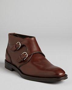 Salvatore Ferragamo Arezzo Double Monkstrap Dress Boots | Bloomingdale's