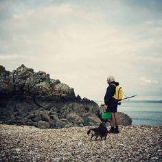 Fisher Man Sea