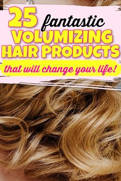 If you have flat or thin hair this list of volumizing hair products is absolutely brilliant! My hair looks fuller and thicker and has more bounce! I highly recommend trying some of them out! hair volume, volume hair, volume hairstyles, volume hair styles, how to volume hair, get volume in hair, more volume in hair, volume hair tutorial, volume hair diy, give hair volume, hair volume tricks, increase hair volume, hair volume remedies, how to get more volume in hair roots, c via @UKBeautyRoom Volume Hairstyles, Uk Hairstyles, Volume Hair Tutorial, Best Volumizing Hair Products, Increase Hair Volume, Hair Thickening Spray, Hair Product Organization, Mane Hair, Thin Hair