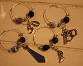 GREYsessed Wine Charms
