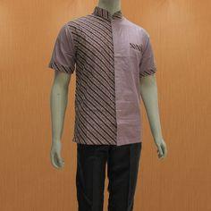 butik batik online shop murah pekalongan menyediakan baju batik pria dalam model hem kemeja lengan pendek terbaru