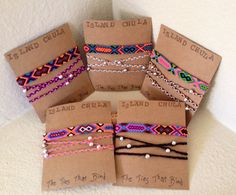 Mix Or Match/Bracelet set/Friendship and Wrapped door IslandChula