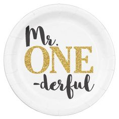 ONEderful Paper Plates created by PuggyPrints. Boys 1st Birthday Party Ideas, 1st Boy Birthday, First Birthday Parties, Happy Birthday, Kid Parties, Themed Parties, Birthday Plate, 1st Birthdays, Party Tableware