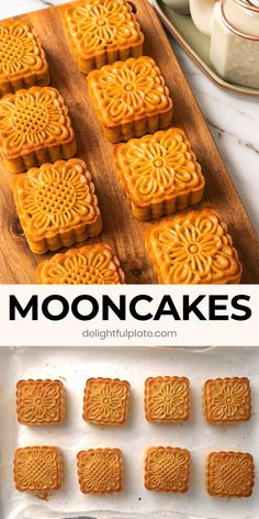 Tasty Videos, Food Videos, Asian Desserts, Chinese Desserts, Baking Recipes, Dessert Recipes, Golden Syrup, Mooncake, Corn Dogs