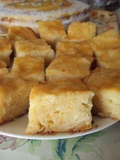 Cristina's world: Prajitura insiropata Romanian Desserts, Romanian Food, Sweets Recipes, Easy Desserts, Cooking Recipes, Sweet Cakes, Greek Recipes, Cake Cookies, Cupcakes