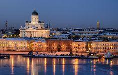 Helsinki, Finland (by http://www.henriksundholm.com/)