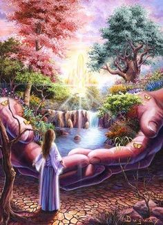 """Jehovah's gift now and forever. """"He is opening up his hand and satisfying the desire of every living thing"""""""