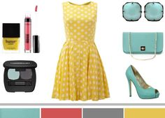 Yellow Dress What Color Shoes | ... on what color shoes to wear with a yellow dress it can be a