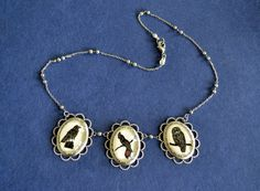 NEW ITEM - The Aviary Necklace - special edition. $75.00, via Etsy.