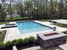 From contemporary patterns to decadently old-fashioned layouts, discover the top 60 best paver patio ideas. Backyard Patio Designs, Pergola Designs, Backyard Landscaping, Patio Ideas, Backyard Ideas, Backyard Layout, Backyard Pavilion, Paver Designs, Pool Designs