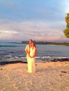 Beautiful wedding on Kona Beaches, Kona Coast, Beach Weddings, Hawaii Wedding, Big Island, Hawaiian, Elegant, Simple, Beautiful