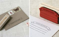 Wit & Whistle Rubber Stamps