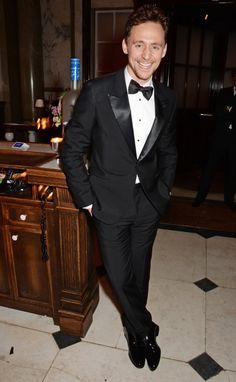 Tom Hiddleston at the 2015 #EEBAFTAs after party. Via Torrilla.tumblr.com