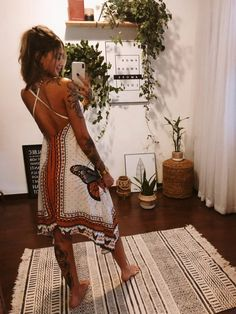 Look Hippie Chic, Hippie Chic Outfits, Estilo Hippie Chic, Modern Hippie Style, Look Boho, Hippie Dresses, Boho Outfits, Boho Chic, Gypsy Style