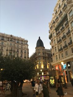 Madrid- Sol.  Its 10pm in this picture and there is still light.