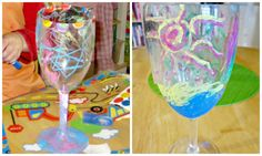 Elijah cup art project for Passover