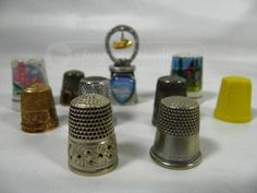 shopgoodwill.com: Lot of Thimbles  $57 for these! Wow!