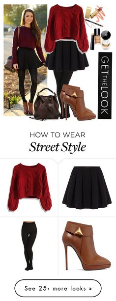 """""""GET The LOOk"""" by chap15906248 on Polyvore featuring SPANX, Polo Ralph Lauren, Chicwish, Giuseppe Zanotti and Chloé"""