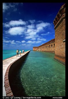 Dry Tortugas National Park in Florida (photo taken by QT Luong)