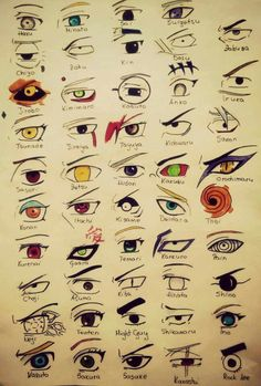 Eyes naruto