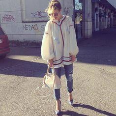 Look Instagram bohème - Street style : 20 jolis looks repérés sur Instagram  - Elle