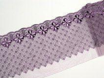 Stickerei violett  11060