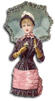 Victorian: #Victorian fashion.