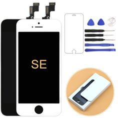 1pcs 100% No Dead Pixel mobile phone lcd For iPhone SE lcd Display with Touch Screen Digitizer Assembly freeshipping