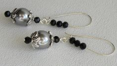 Glass Pearls Crystals Handmade Beaded by bdzzledbeadedjewelry, $13.00