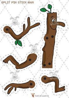 Teacher's Pet - Moving Stick Man - Premium Printable Game / Activity - EYFS julia donaldson stickman christmas d Gruffalo Activities, Eyfs Activities, Activities For Kids, Book Crafts, Arts And Crafts, Julia Donaldson Books, Story Sack, The Gruffalo, Stick Man