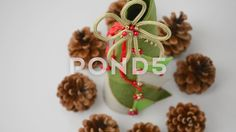 #decoration #pine #cone #holiday #green #tree #forest #xmas #spruce #branch #white #fir #plant #twigs #evergreen #decorative #closeup #isolated #still life #nobody #conifer #ornament #brown #new #seasonal #celebrate #celebration #pinecone #event #celebratory #christmas #gift #traditional #season #studio shot #object #decorate #seed #needle #december #lush #coniferous #beautiful #background #nature #eve #dry #year #autumn #winter  #Video #footage #stock #pond5