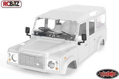 1/10 land rover #defender d110 hard #plastic body kit very detailed #z-b0088 rc4w,  View more on the LINK: http://www.zeppy.io/product/gb/2/121763339912/