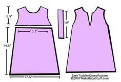 Toddler Dress Pattern