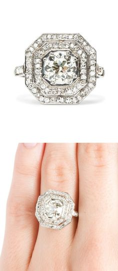 Art Deco Diamond Ring by AislingH